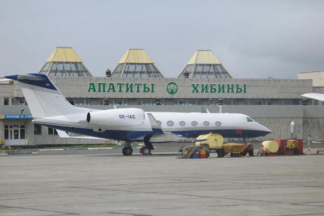 Аэропорт Хибины