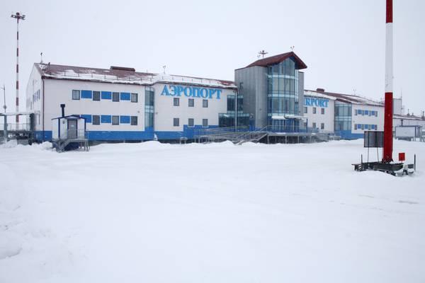 Здание аэропорта Бованенково