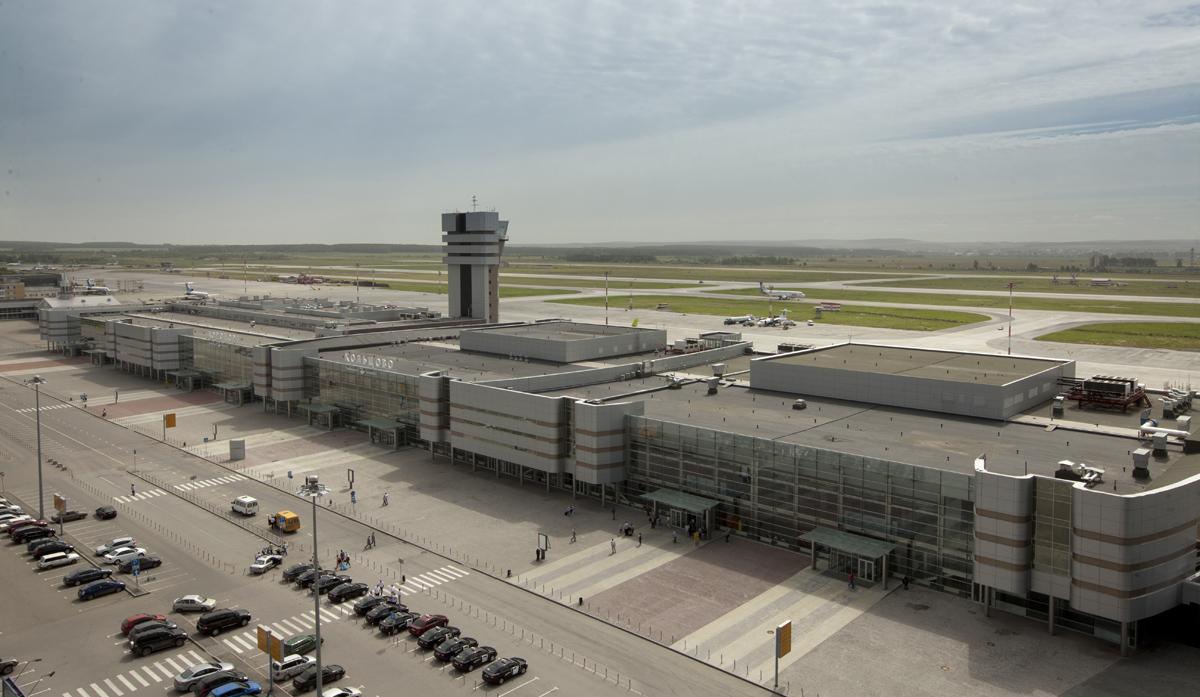Новое здание аэропорта
