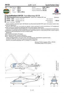 Макет страницы воздушного судна AgustaWestland AW139