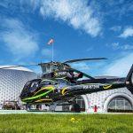 Частный московский вертодром Авиакомпания Heliport-M