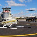 Robinson R66 на стоянке Авиакомпания Heliport-M