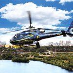 ЕС-130 Авиакомпании Heliport-M в полете