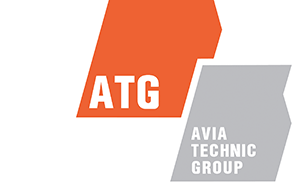 Логотип Авиа Техник Групп
