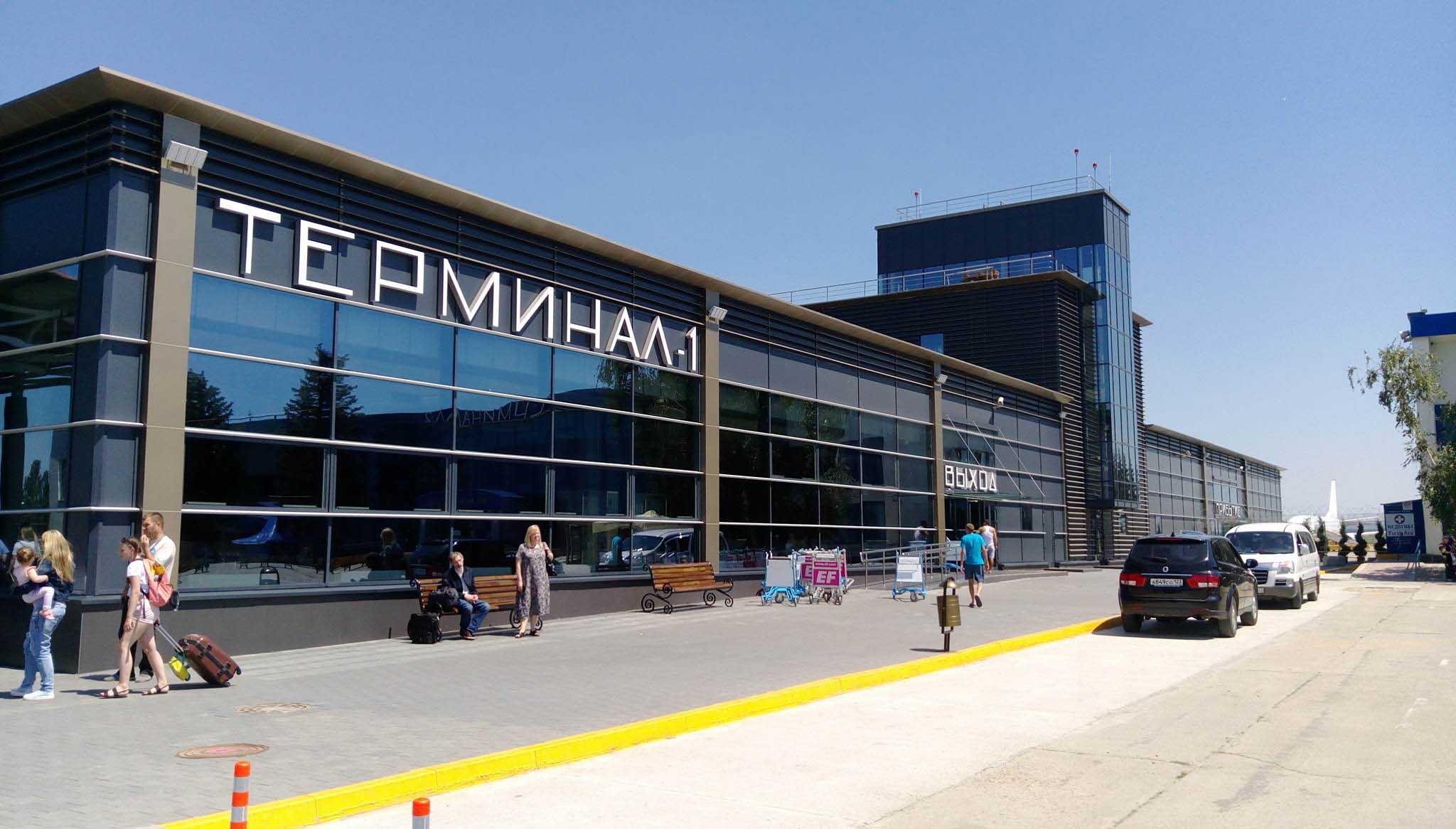 Аэропорт Анапа новый терминал