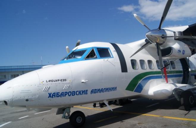 Л410 Авиакомпании Хабаровские авиалинии