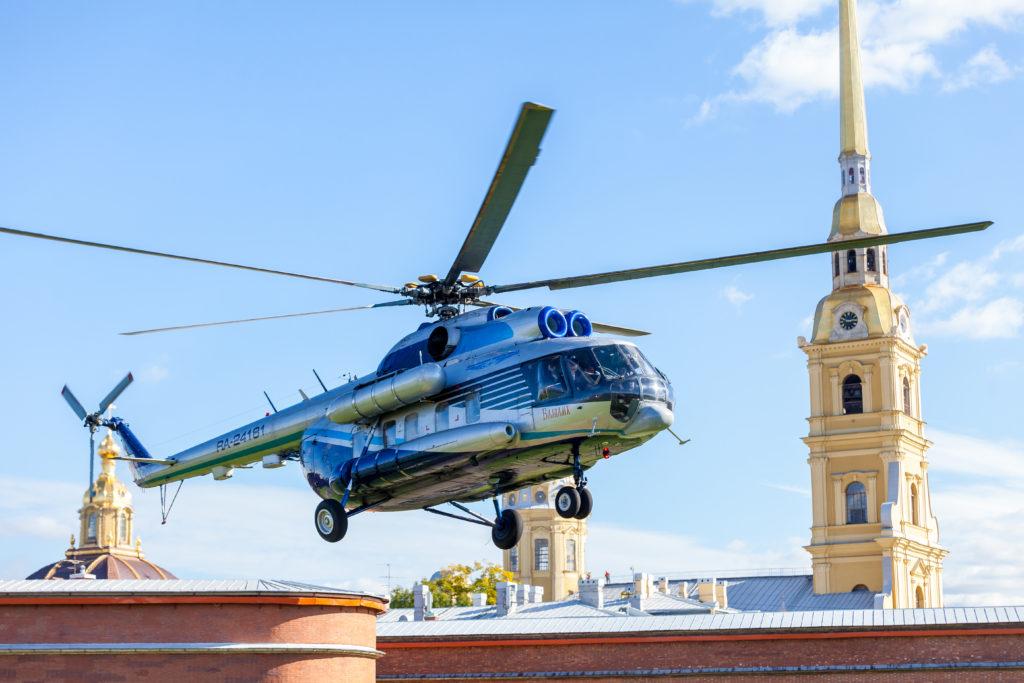 Ми-8 авиакомпании Северо-Запад