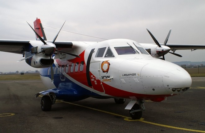 Л-410 авиакомпании Уктус